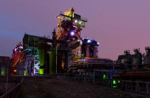 Industriedenkmal: Landschaftspark Duisburg Nord heute: Wikipedia